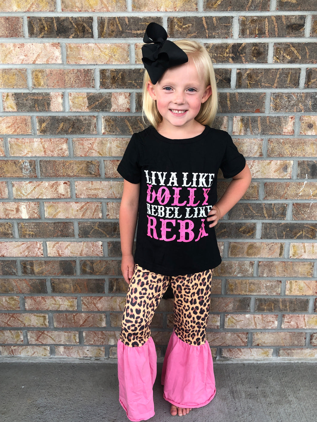 Dolly & Reba Leopard Pink Pants Set •  PREORDER CLOSES THURSDAY, MARCH 28!!