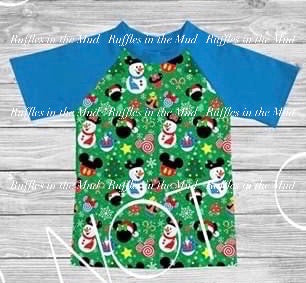 3T • Disney Ornaments Raglan