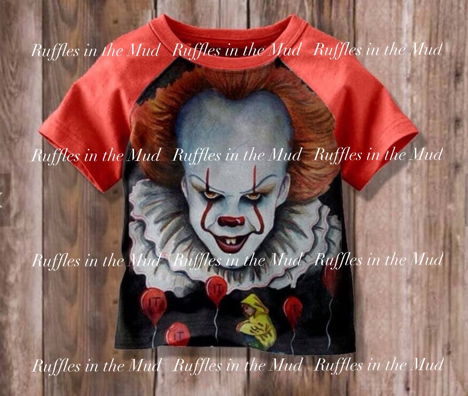 IT Clown Raglan • PREORDER CLOSES THURSDAY, JUNE 6