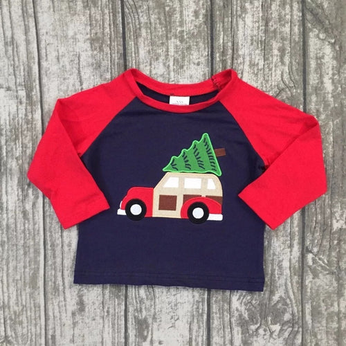 12/18m • Christmas Station Wagon Raglan