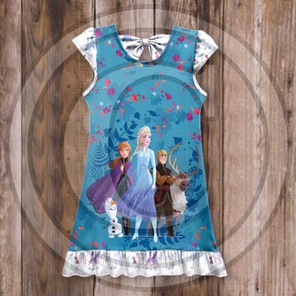 Frozen 2 Spirits Nightgown • PREORDER CLOSES THURSDAY, JAN. 9 @ 8pm!