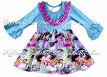 Princess Jasmine Ruffle Dress