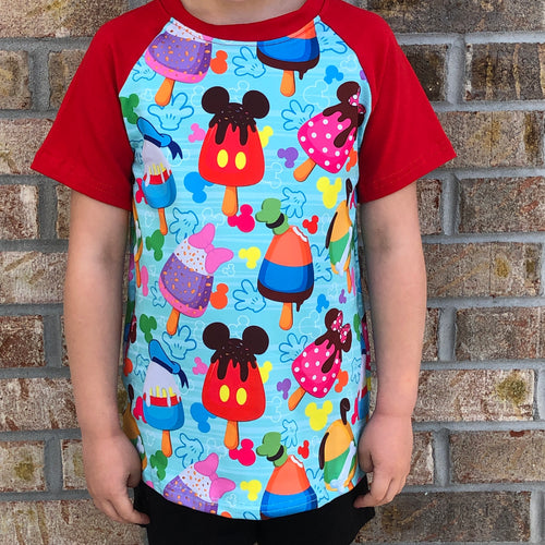 3T, 5/6-7/8 • Disney Popsicles Raglan