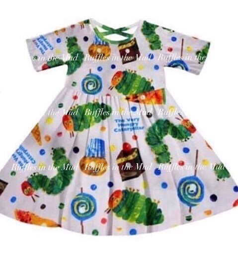 Hungry Caterpillar Dress • PREORDER CLOSES TUESDAY, FEB. 4