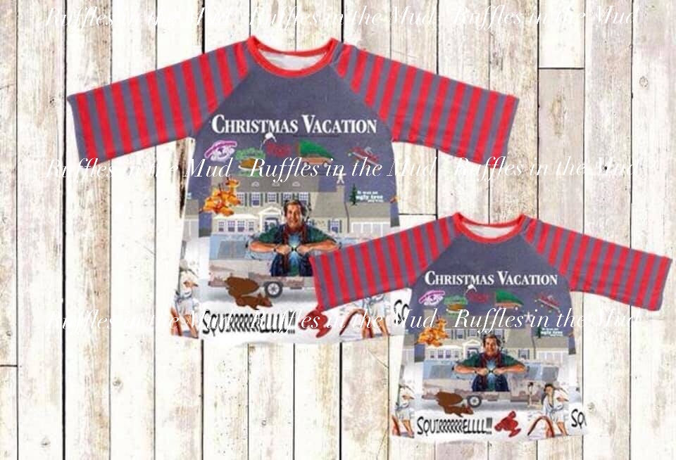 Christmas Vacation Raglan • PREORDER CLOSES THURSDAY, AUG 1