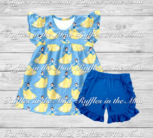CUSTOM • Snow White Shorts Set • PREORDER CLOSES THURSDAY, JAN. 18