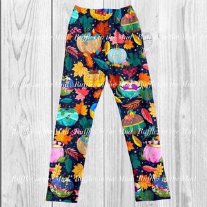 GIRL'S • Princess Pumpkins Leggings • PREORDER CLOSES FRIDAY, JUNE 28