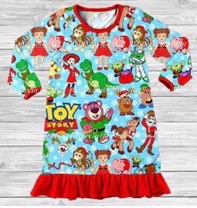Toy Story 4 Christmas Nightgown • PREORDER CLOSES SATURDAY, SEPT. 14