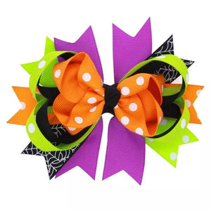 "5"" • Colors of Halloween Bow"