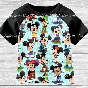 Lil' Prince Mickey Raglan • PREORDER CLOSES TUESDAY, JULY 2