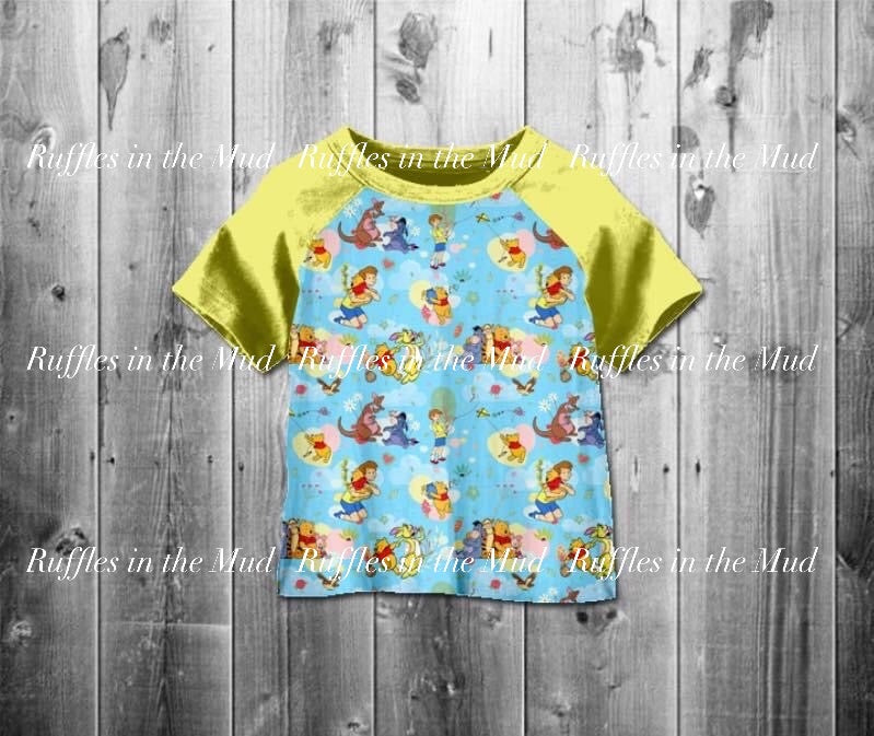 Winnie the Pooh Raglan • PREORDER CLOSES SATURDAY, APRIL 11