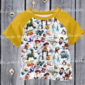 Toy Story Crew Raglan • PREORDER CLOSES MONDAY, MAY 20 @ 8pm!
