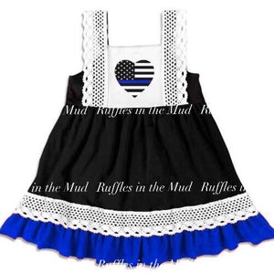 Thin Blue Line Dress • PREORDER CLOSES SATURDAY, JULY 13