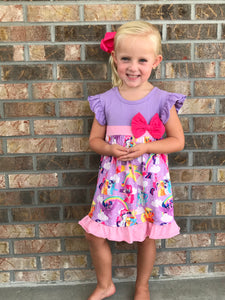 4T • My Little Pony Bow Dress