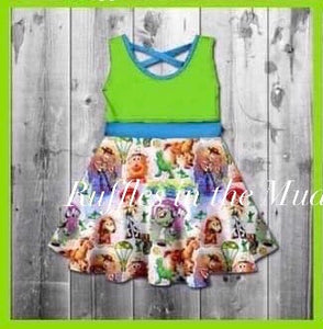 Toy Story Friends Dress • PREORDER CLOSES SATURDAY, FEB. 15