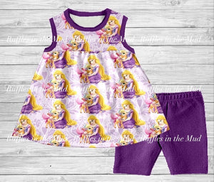 Classic Disney Princesses Shorts Sets (2of2) • PREORDER CLOSES SUNDAY, MAY 10