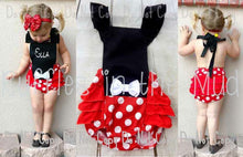 Minnie Mouse Open Back Romper • PREORDER CLOSES FRIDAY, MARCH 16