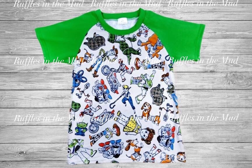 Toy Story 4 Sketch Raglan • PREORDER CLOSES SATURDAY, SEPT. 28