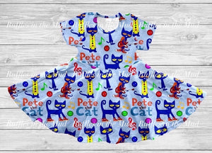 Pete The Cat Twirly Dress • PREORDER CLOSES SUNDAY, MAY 24