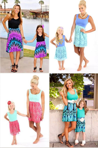 Mini Mommy & Me Dresses • PREORDER