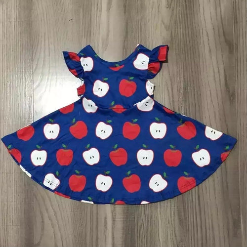 2T-8/9 • Cuteness to the Core Apple Dress