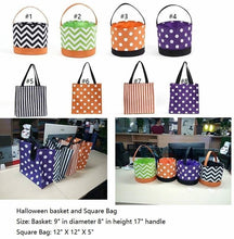 Halloween Tote Buckets • PREORDER CLOSES SATURDAY, JULY 14