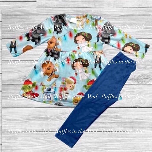Star Wars Christmas Pants Set • PREORDER CLOSES SUNDAY, OCT. 13