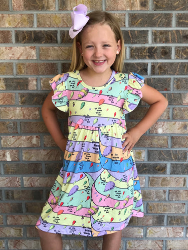 2T, 3T • Oh The Places You'll Go Pearl Dress