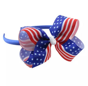 "4"" • Stars & Stripes Headband"