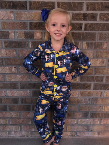 0/3m-8/9 • Polar Express Pajama Set 💜 Big Sister