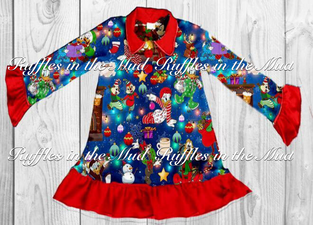 A Very Mickey Christmas Nightgown • PREORDER CLOSES THURSDAY, JULY 5