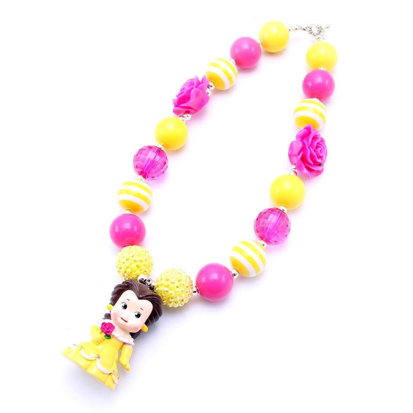Belle • Character Chunky Bead Necklace