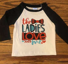2T • Ladies Love Me Raglan