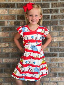 2T-5/6 • Dr. Seuss Friends Pearl Dress