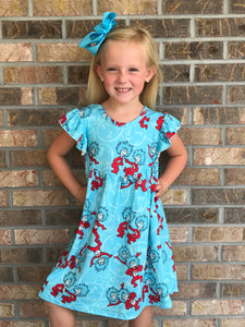2T-5/6 • Thing 1 & Thing 2 Pearl Dress