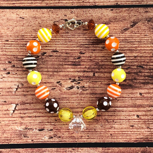 Fall Harvest Chunky Bead Necklace