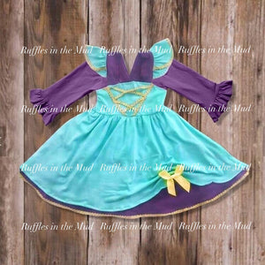 Jasmine • Long Sleeve Princess Dress • PREORDER CLOSES WEDNESDAY, JULY 3