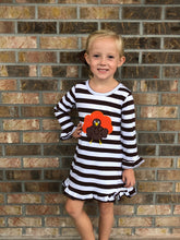 1/2T • Brown Striped Turkey Tunic Dress