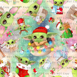 ADULT • Yoda Christmas Leggings • PREORDER CLOSES SATURDAY, MAY 16