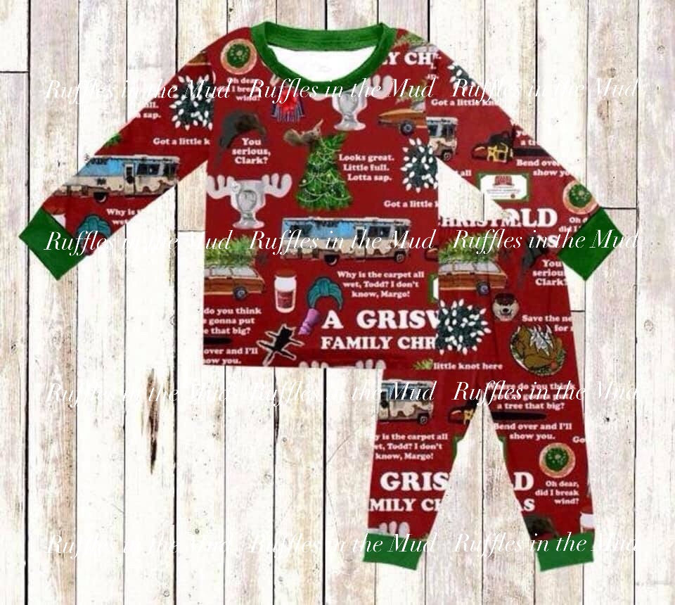 Griswold Christmas Pajama Set • PREORDER CLOSES THURSDAY, JULY 11
