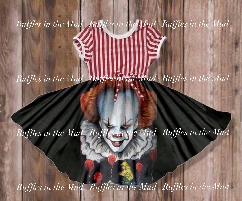 IT Clown Dress • PREORDER CLOSES THURSDAY, JUNE 6