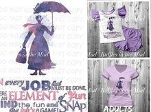ADULT • Mary Poppins Graphic Tee • PREORDER CLOSES SATURDAY, MAY 2