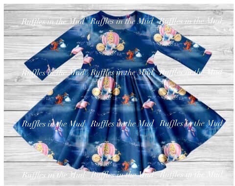 Bibbidi Bobbidi Boo Cinderella Twirly Dress • PREORDER CLOSES SATURDAY, NOV. 9