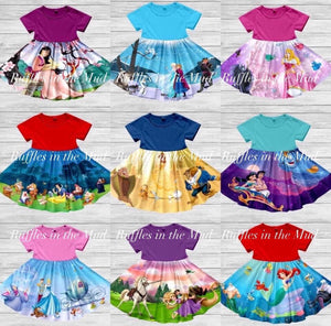 Princess Panel Twirly Dress (1 of 2) • PREORDER CLOSES SATURDAY, FEB. 22