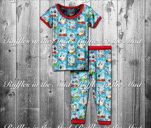 KID'S • Disney Snow Globes Pajama Set • PREORDER CLOSES THURSDAY JULY 19