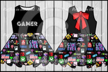 Classic Gamer Bow Dress • PREORDER CLOSES MONDAY, APRIL 27
