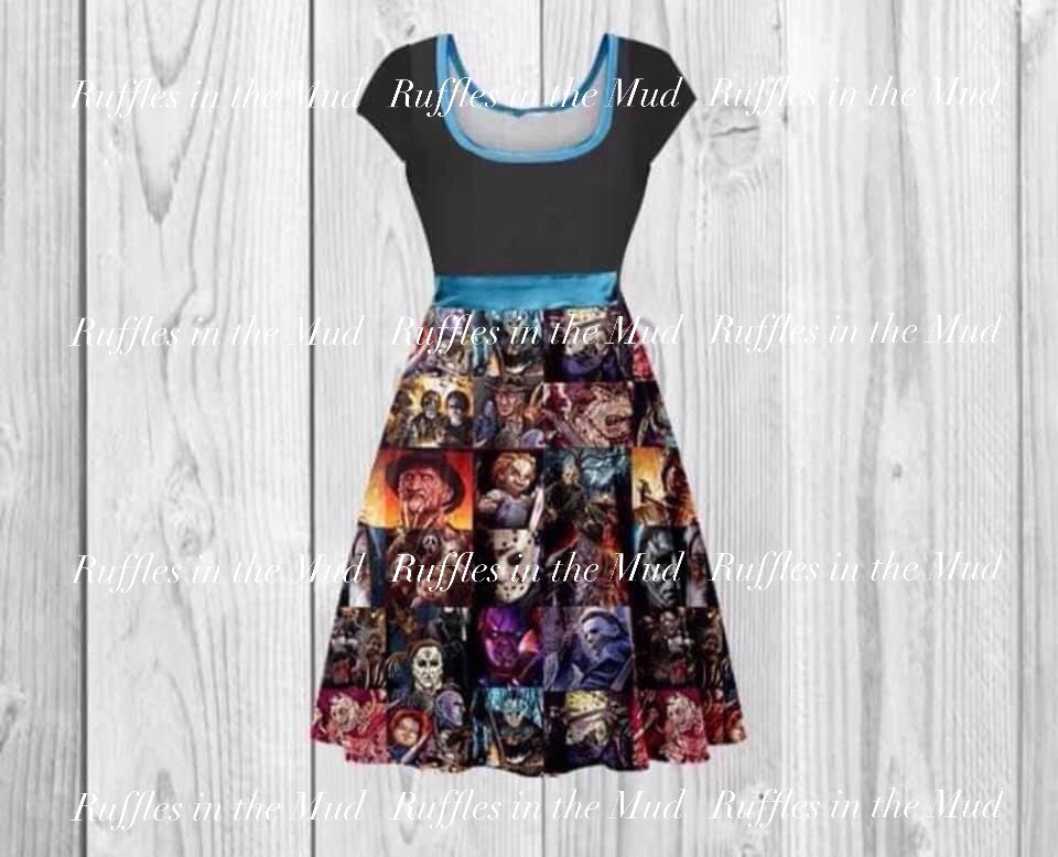 WOMEN'S • Horror Movies Dress • PREORDER CLOSES WEDNESDAY, MAY 29