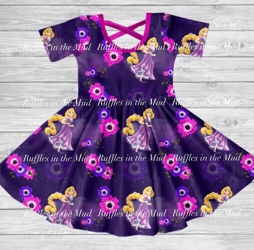 Rapunzel Twirly Dress • PREORDER CLOSES SUNDAY, JUNE 23