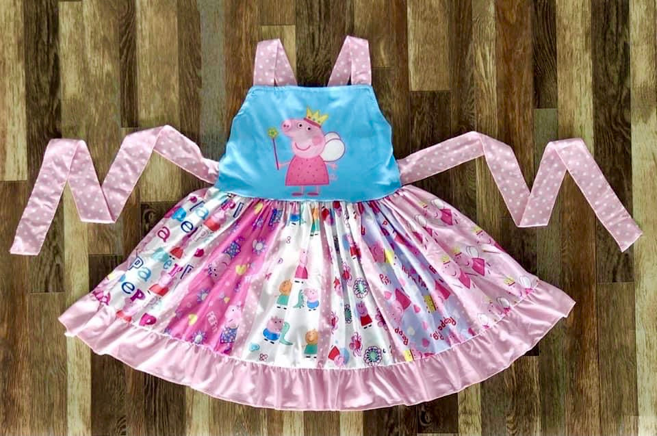 Peppa Pig Fabric Panel Dress
