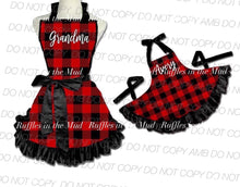 Mommy & Me Buffalo Plaid Aprons • PREORDER CLOSES THURSDAY, OCT. 3